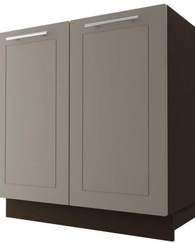 Skrinka do kuchyne Quantum D8Z/80 Beige mat