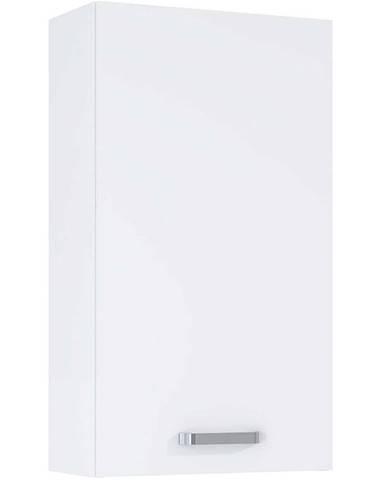 Závesná kúpeľňová skrinka Uno 40 1D white