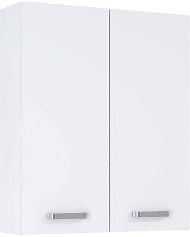 Závesná kúpeľňová skrinka Uno 60 2D white