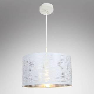Závesná lampa 15341 bielo-strieborná LW1