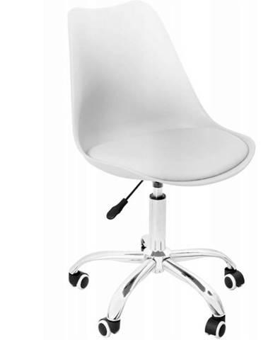 Kancelárske kreslo milano biely