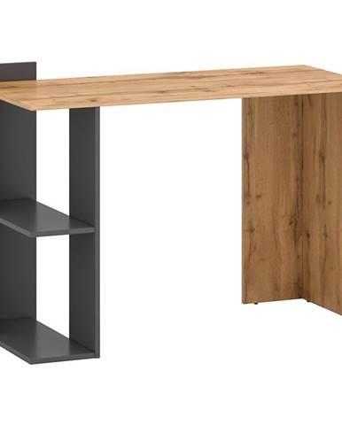 Písací stôl Stil 1 votan/grafit