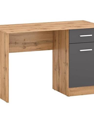 Písací stôl Stil 2 votan/grafit