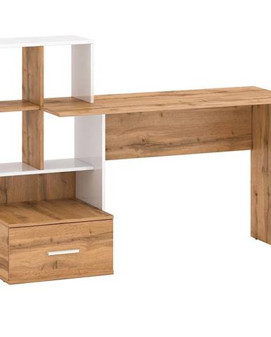 Písací stôl Stil 3 votan/biely