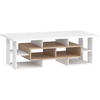 Konferenčný stolík N Rio-11 sonoma svetlý/biely
