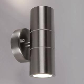 Vzduchotesná záhradná lampa N.HL266.INOX.KDG2