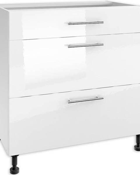 MERKURY MARKET Skrinka do kuchyne Luna White PSZ 80/3