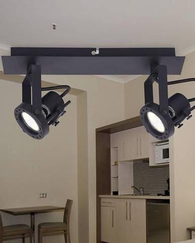 Lampa Medison-2 sandy black LS2
