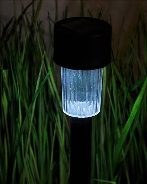 MERKURY MARKET Solárna lampa BY-131571 Czarna