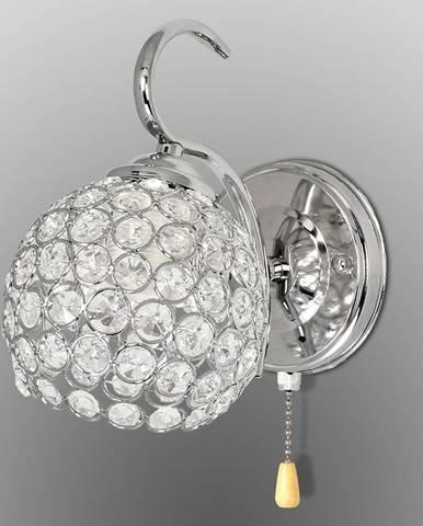 Nástenná lampa K-A 1537/1 CHR+KR