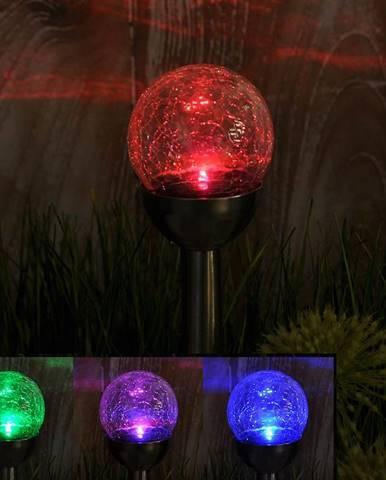 Solární svítidlo 1LED GLE29992-8-RGB