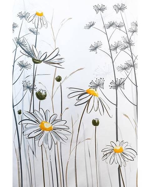 MERKURY MARKET Textilný záves 120/200 W08441 Flower daisy