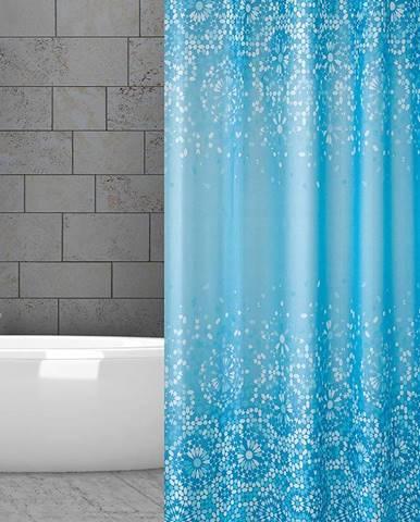 Textilný záves 150/200 W06303 Blue Mosaic