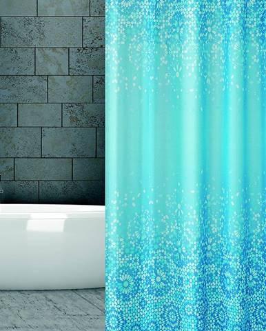 Textilný záves 180/200 W06303 Blue Mosaic