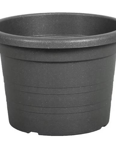 Kvetináč CILINDRO plastový antracitový d40x28cm