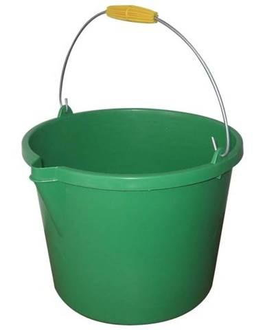 Zelené záhradné vedro 14l