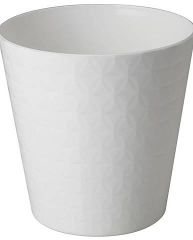 Kvetináč Diament Petit 15 cm biely