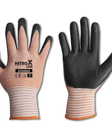 Ochranné rukavice Dámske nitrox flow. Veľkosť 8