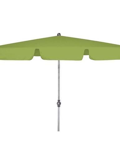 Zahradný slnečník ACTIVE 180x120 cm zelená
