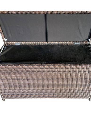 Ratanový box hnedá 115x45x65cm