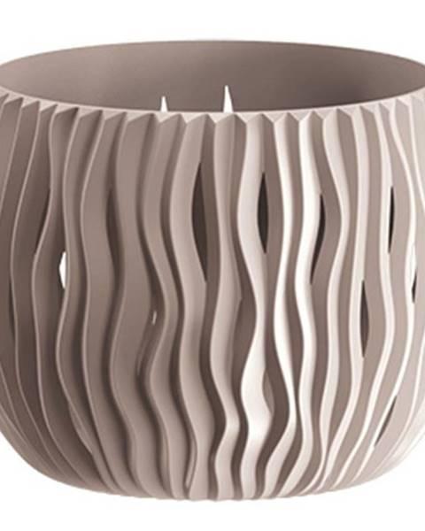 MERKURY MARKET Kvetinač Bowl Sandy Mocca Dsk180-7529u