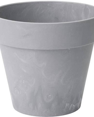 Kvetináč  Ibiza beton jasný 18 cm