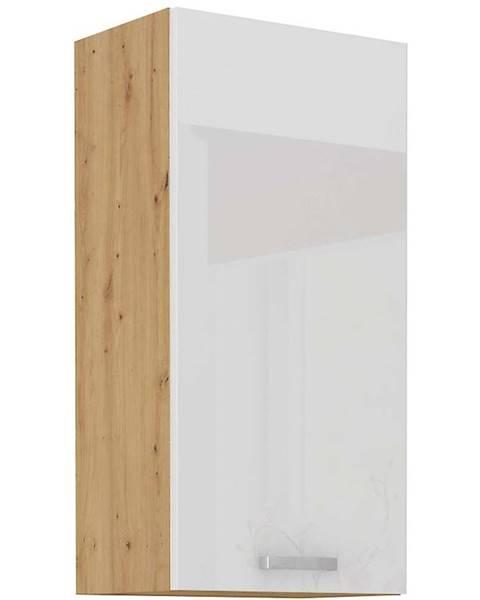 MERKURY MARKET Skrinka do kuchyne ARTISAN biela lesklá 50G-90 1F