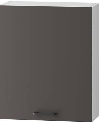 Skrinka do kuchyne Clara W60 P/L sivý grafit/artisan