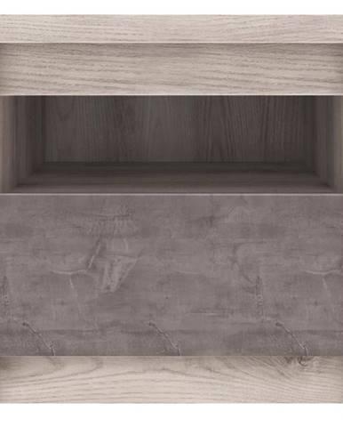 Nočný stolík 18 Axer gaštan nairobi/onyx