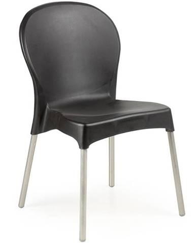Stolička Diana čierna