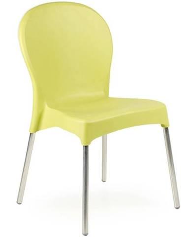 Stolička Diana zelená