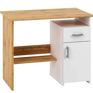 Písací stôl Miu01 votan biela