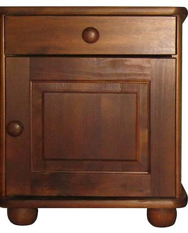 Nočný stolík brown filunek