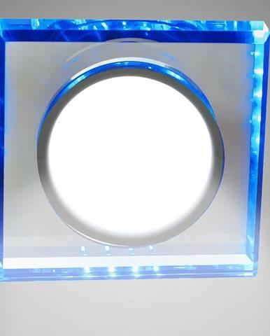 Stropné svietidló SSP-22 CH/TR+BL 8W LED štvorcový 2263892