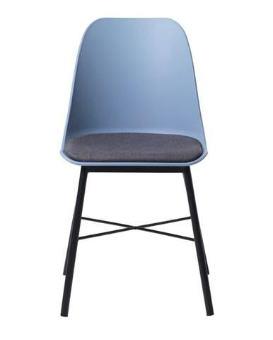 Modrá jedálenská stolička Unique Furniture Whistler