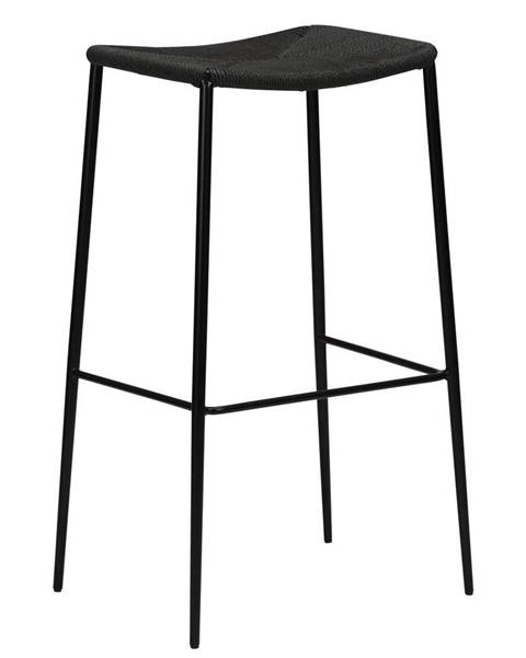 DAN-FORM Denmark Čierna barová stolička DAN-FORM Denmark Stiletto