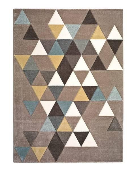 Universal Koberec vhodný aj do exteriéru Universal Triangles, 200 x 290 cm