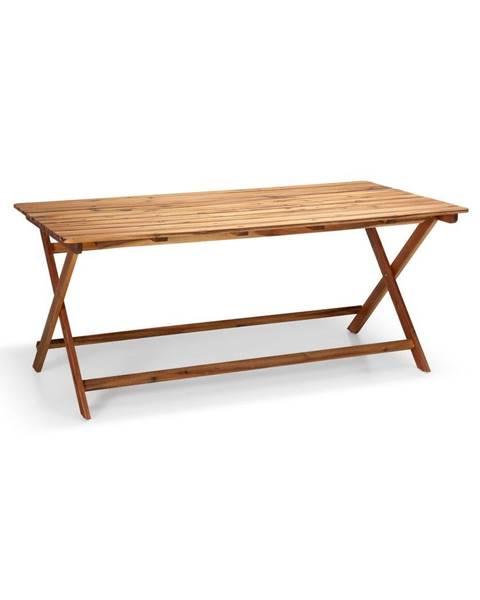 Le Bonom Záhradný stôl z akáciového dreva Le Bonom Natur, 88 x 171 cm