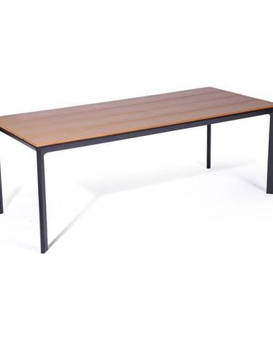 Záhradný stôl s artwood doskou Le Bonom Thor, 100 x 210 cm