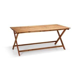 Záhradný stôl z akáciového dreva Le Bonom Natur, 88 x 171 cm