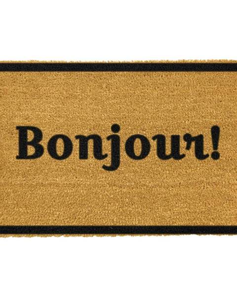 Artsy Doormats Rohožka z prírodného kokosového vlákna Artsy Doormats Bonjour, 40 x 60 cm