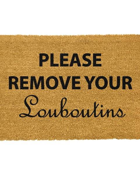 Artsy Doormats Rohožka z prírodného kokosového vlákna Artsy Doormats Your Louboutins, 40 x 60 cm