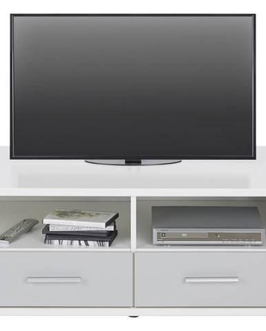 Tv-diel Young V Dekore Biela/svetlo sivá
