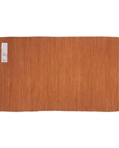 Zošívaný Koberec Julia, 70/130cm, Oranžová