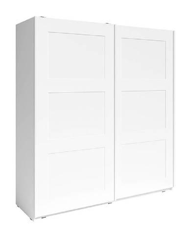 2- dverová skriňa biela RAMIAK