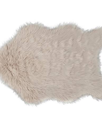 Umelá kožušina béžová 60x90  EBONY TYP 2