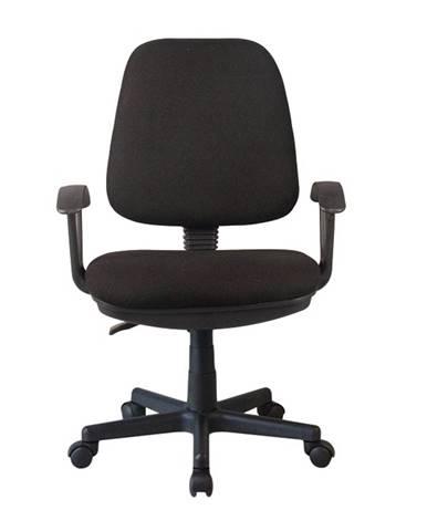 Kancelárska stolička čierna COLBY poškodený tovar