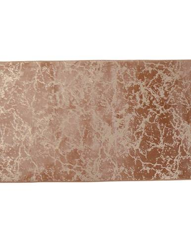 Moderný koberec béžová/zlatý vzor 80x150 RAKEL
