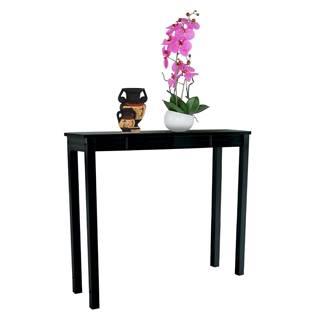 Konzolový stolík čierna AMYNTAS