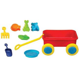 Vozik na hračký s prislusenštvom